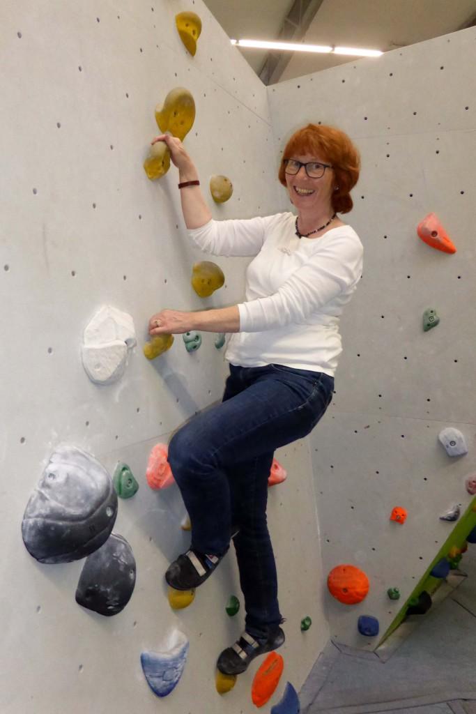 Bouldern / Klettern in geringer Höhe
